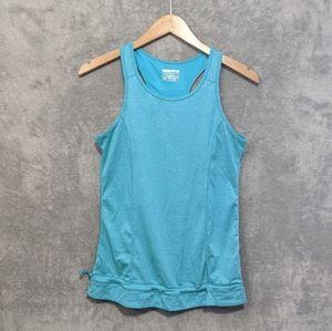 🌻5/15$ Layer 8 teal blue tank top